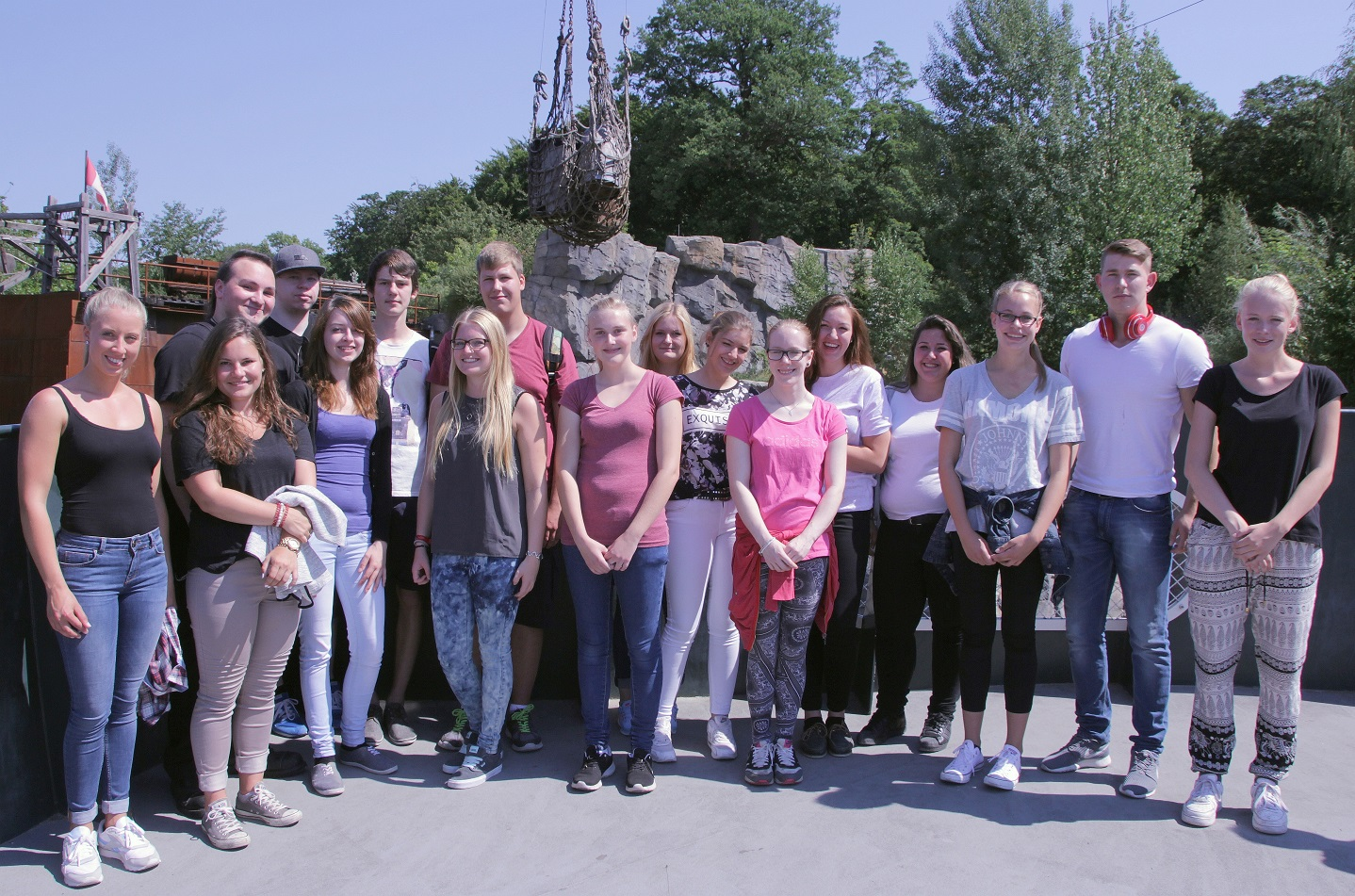 Azubis im Erlebnis-Zoo